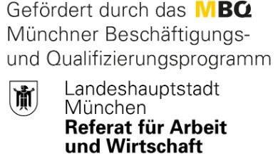 Job Mentoring München wird gefördert durch die Landeshauptstadt München